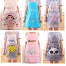 apron Random color Sleeveless apron waterproof Simplicity Household cleaning other Cartoon