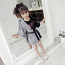 Family clothes for parents and children black other 100,110,120,130,140,150,160
