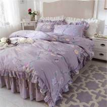 Bedding Set / four piece set / multi piece set cotton other Plants and flowers 133X76 Other / other cotton 4 pieces 40 Anna Su, dream Anna, night primrose, Joanna, ruililan, ruiliga, Mia, Caiwei, Alice, NianHong, Huamei, Qimeng, Huachun, dusk, Lanqin, Banxia, Avril, flowers blooming in the street