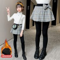 trousers Other / other female 140cm,130cm,150cm,120cm,160cm,110cm Orange, lemon yellow, black plush, according to the height of a big shot, black pants, seven days no reason to return, not satisfied with the bag return winter trousers Korean version There are models in the real shooting Leggings