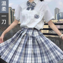 student uniforms Spring 2021 XS S M L XL XXL Short sleeve solar system skirt 18-25 years old Yueyitang polyester JKWRYD 96% and above Polyester 100% Pure e-commerce (online only)