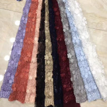 Fabric / fabric / handmade DIY fabric Netting Loose shear piece Plants and flowers other clothing Europe and America Shanghui Guangdong Province Guangzhou City Chinese Mainland