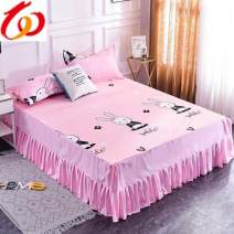 Bed skirt 120cmx200cm,150cmx200cm,180cmx200cm,180cmx230cm,200cmx220cm,135cmx200cm,200cmx200cm,120cmx230cm,160cmx230cm,250cmx200cm polyester fiber Other / other Plants and flowers Qualified products F514397559712311