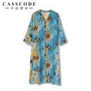 Dress Spring 2021 Blue print M,L,XL