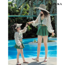 Family clothes for parents and children M,L,XL,XXL,3XL kapeka nz Children 20613-1, women 20402-1 20402‖20613