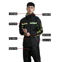 Poncho / raincoat polyester Flagship - fluorescent green, flagship - black, flagship - red, regular - black, regular - Navy M,L,XL,XXL,XXXL,XXXXL adult 1 person routine other Capsule raincoat YS-008 See description