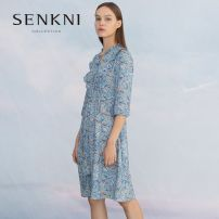 T-shirt S161303JE-40 S,M,L,XL,XXL Spring 2020 three quarter sleeve V-neck raglan sleeve commute other 96% and above 25-29 years old Senkni / San CONI S161303JE