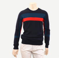 T-shirt / sweater Others Fashion City Yellow, Baolan 165,170,175,180,185 routine Socket Crew neck Long sleeves VYYA3324 autumn Straight cylinder 2020 Travel? Business Casual routine stripe
