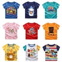 T-shirt Other / other 73) with shoulder buckle, 80) with shoulder buckle, 90) without shoulder buckle, 100) without shoulder buckle, 110) without shoulder buckle currency Short sleeve other Cartoon animation 3 months