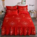 Bed skirt 120x200cm for 2 pillow cases, 150x200cm for 2 pillow cases, 180x220cm for 2 pillow cases, 200x220cm for 2 pillow cases cotton Other / other Plants and flowers Superior products