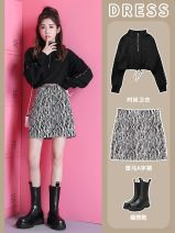 skirt Autumn 2020 S 98 Jin, m 108 Jin, l 118 Jin, XL 128 Jin, XXL 138 Jin Collection and purchase priority delivery, zebra A-line skirt Short skirt commute High waist A-line skirt Zebra pattern Type A 18-24 years old CHUNMU-9959 More than 95% Other / other other Korean version