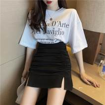 Outdoor casual suit Tagkita / she and others female 51-100 yuan seventy-one point eight zero S. M, average size Fruit green skirt, black skirt, T-shirt black, T-shirt white, collection and purchase priority Summer 2020