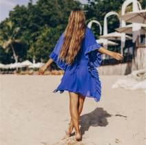 Beach coat navy blue Average size Sugarlotus DN0224