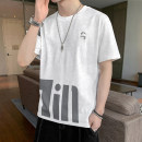 T-shirt Youth fashion We1329 - white we1329 - gray we1329 - green we1329 - yellow routine M L XL 2XL 3XL Shining eyes Short sleeve Crew neck Self cultivation daily summer Yaomou-we-we1329 Cotton 65.3% polyester 34.7% teenagers routine tide Spring 2021 cotton other No iron treatment Fashion brand