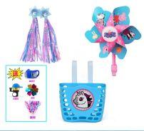 Basket / basket Other / other Rainproof, lidless, for children Scooter basket ribbon windmill Plastic trumpet