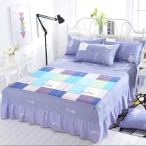 Bed skirt polyester fiber Other / other Plants and flowers Qualified products s88888