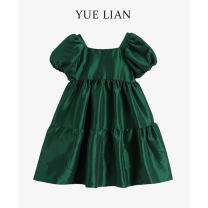 Women's large Summer 2021 green S M L singleton  easy Short sleeve routine other YLFDGC Jolian (costume) 18-24 years old 96% and above Other 100% Pure e-commerce (online only)