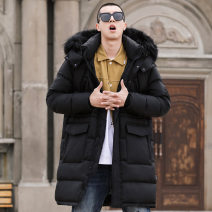 Sports down jacket Black, pay attention to the store + collect goods = priority delivery, like to remember to join the shopping cart Naizhi six hundred and ninety-nine teenagers L (adult), XL (adult), XXL (adult), XXXL (adult), XXXXL, XXXXL Medium length White duck down 60% Winter 2020 stand collar