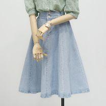 Parent child fashion 8279 light blue, 8279 dark blue other female Other / other S,M,L,XL See description Versatile Solid color Denim Bao 416-8279 Other 100% 12 months