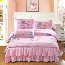 Bedding Set / four piece set / multi piece set Polypropylene fiber Embroidery Puzzle 200x95 Other / other polyester cotton 4 pieces 100 Charming color, red love, wedding hall, flower language, Annie's time, sunset, flower language in the wind, love, flowing gold 2.0 beds, 1.5 beds, 1.8 beds, 1.2 beds
