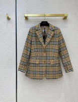 suit Summer 2021 As shown in the picture S,M,L,XL Long sleeves routine Straight cylinder tailored collar Single breasted street routine lattice 96% and above cotton