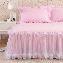 Bed skirt 120x200cm bed skirt, 150x200cm bed skirt, 180x200cm bed skirt, 120x200 bed skirt with a pair of pillowcases, 150x200 bed skirt with a pair of pillowcases, 180x200 bed skirt with a pair of pillowcases Others Other / other Others Others XH0425