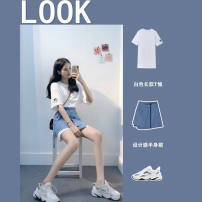 Fashion suit Summer 2021 S M L XL Top Skirt Top + skirt 18-25 years old Looking for a girl 12547ak Other 100% Pure e-commerce (online only)