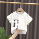 T-shirt Other / other 80cm,90cm,100cm,110cm,120cm neutral summer Short sleeve Crew neck Korean version No model nothing cotton other Cotton 100% Sweat absorption 6 months, 12 months, 9 months, 18 months, 2 years old, 3 years old, 4 years old, 5 years old Chinese Mainland Zhejiang Province Hangzhou