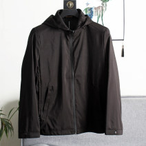 Jacket Other / other Fashion City Black, gray 175,180,185,190,195 routine standard Other leisure autumn Long sleeves Wear out Hood Basic public routine Zipper placket 2020