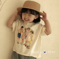 T-shirt Other / other neutral summer Short sleeve Crew neck Korean version No model nothing other Cartoon animation Other 100% 12 months, 18 months, 2 years old, 3 years old, 4 years old, 5 years old, 6 years old, 7 years old, 8 years old, 9 years old, 10 years old, 11 years old, 12 years old