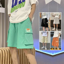 Casual pants Others Youth fashion Gray, black, khaki, orange, light green M. L, XL, 2XL, 3XL, s small, XS plus small thin Shorts (up to knee) Other leisure easy Micro bomb summer teenagers 2021 Sports pants