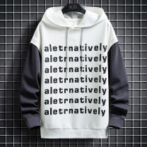 Sweater Youth fashion Others Gray, white, black M. L, XL, 2XL, 3XL, s small, XS plus small other Socket