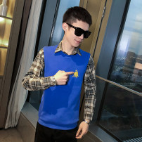 Sweater Youth fashion Others Blue, black, gray M. L, XL, 2XL, 3XL, s small, XS plus small other Socket summer Straight cylinder leisure time