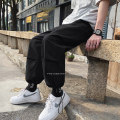 Casual pants Others Youth fashion White, black, dark grey S. M, l, XL, 2XL, 3XL, XS plus small routine trousers Other leisure easy spring youth tide Cotton 100% Solid color cotton cotton More than 95%