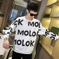Sweater Youth fashion Others White, red, black M. L, XL, 2XL, 3XL, s small, XS plus small other Socket routine Crew neck autumn easy leisure time youth tide routine polyester cotton cotton printing No iron treatment Japanese and Korean style