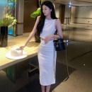 Fashion suit Summer 2021 S M L White suit black suit 18-25 years old Qiansha'er Other 100% Pure e-commerce (online only)