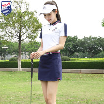 Golf apparel Top white, trouser skirt Baolan, top + trouser skirt S,M,L,XL,XXL female ZG-6 t-shirt  Y9932