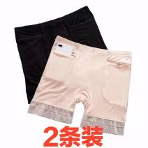 Leggings Summer 2020 Two [black + black] zipper pockets, two [skin color + skin color] zipper pockets, two [black + skin color] zipper pockets M, L Thin money shorts 30-34 years old Other / other pure cotton 91% (inclusive) - 95% (inclusive)