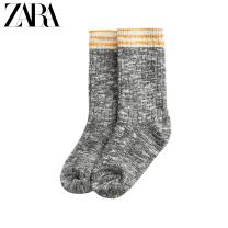 Children's socks (0-16 years old) Socks grey 6-7 years old (18 cm) 8-9 years old (20 cm) 9-10 years old (22 cm) 11-12 years old (24 cm) 13-14 years old (26 cm) ZARA No season male other Cotton 93% polyamide fiber (nylon) 6% polyurethane elastic fiber (spandex) 1% 03864799802-27 Average size