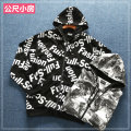 Sweater Youth fashion Meter small house Cityscape Cardigan routine Hood easy tide cotton printing 30% (inclusive) - 49% (inclusive) Three dimensional bag zipper