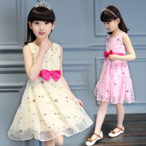 Dress Yellow, white, pink female Other / other 110cm,120cm,130cm,140cm,150cm,160cm Other 100% No season leisure time Short sleeve Dot other Irregular Class B 7, 8, 14, 3, 6, 13, 11, 5, 4, 10, 9, 12 Chinese Mainland
