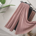 Women's large Summer of 2019 Camel, black L [recommended 95-120 kg], XL [recommended 120-140 kg], 2XL [recommended 145-170 kg], 3XL [recommended 175-205 kg] trousers singleton  commute easy thin Solid color Korean version polyester fold Other / other Gauze 51% (inclusive) - 70% (inclusive)