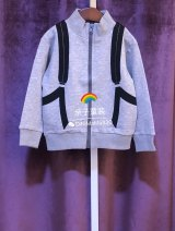Sweater / sweater Other / other grey neutral 100cm,110cm,130cm,140cm,150cm,160cm,120cm spring and autumn nothing leisure time Zipper shirt routine No model cotton Solid color