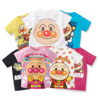 T-shirt Other / other 90, 100, 110, 120, 130 neutral summer Short sleeve Crew neck leisure time No model nothing cotton Cartoon animation Cotton 100% X370 Class B Sweat absorption 12 months, 9 months, 18 months, 2 years old, 3 years old, 4 years old, 5 years old, 6 years old, 7 years old