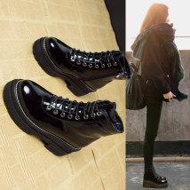 Boots 34 35 36 37 38 39 40 Наивысшее волокна черный Наивысшее волокна Искусственный короткий плюш aimjr Короткие трубки Круглый Высокий каблук (5-8 см)