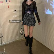 Fashion suit Summer 2020 S. M, l, average size Blue, black lace, white lace
