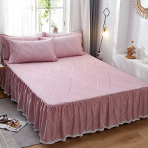 Bed skirt cotton Elegant soft pink Paddington sharp impression life Capriccio world travel dancing with the wind Milo city in the air elegant and fresh because love Ziyang flower deep gray silver gray pure gray white jade bean paste light camel sea green Beige light coffee light purple snow green