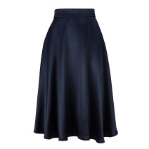 skirt Spring 2021 XS,S,M,L,XL Navy, black, white longuette grace High waist A-line skirt Solid color Type A 25-29 years old SKMBACE103 71% (inclusive) - 80% (inclusive) Silk and satin Mobile / momo Cellulose acetate pocket 201g / m ^ 2 (including) - 250G / m ^ 2 (including)