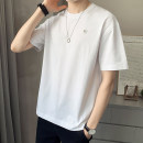 T-shirt Youth fashion 6009-201 orange 6009-201 white 6009-201 gray 6009-201 black 6009-201 ginger thin M L XL 2XL 3XL First tone Short sleeve Crew neck easy daily summer 6009-201A1 Cotton 70% polyester 30% routine like a breath of fresh air Summer 2021 cotton No iron treatment