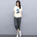 Fashion suit Summer 2020 M L XL XXL Grey orange blue KAS. Ang / Cason KAS2039A Cotton 65% viscose 30% flax 5% Pure e-commerce (online only)